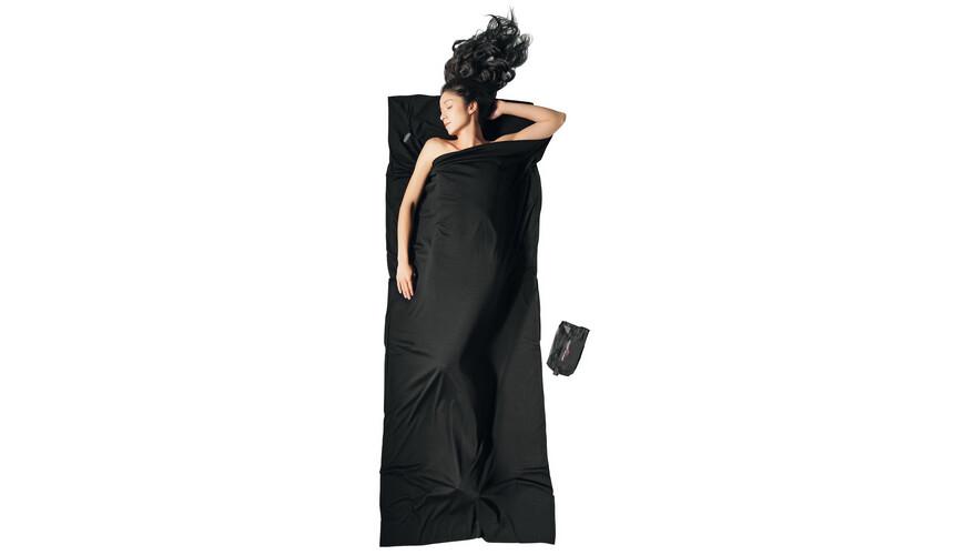 Cocoon TravelSheet - Sacos de dormir - Merino Wool negro